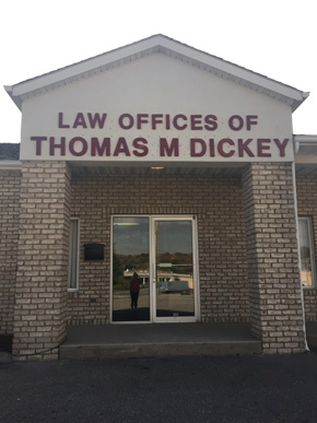 Thomas Dickey, Altoona, location