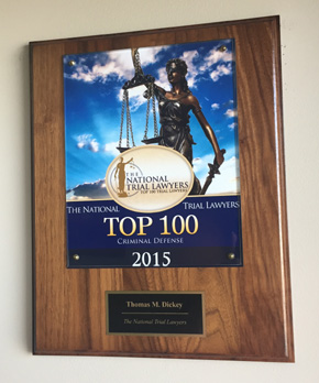 Thomas Dickey, Altoona, PA Top 100 Lawyer